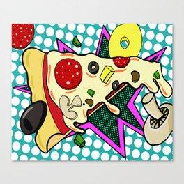 Slice Slice Baby Canvas Print
