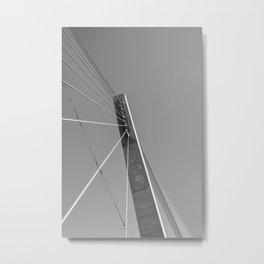 Bagley Pedestrian Bridge Metal Print