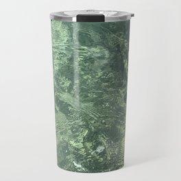 Marbled effect water Travel Mug