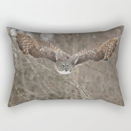 Wisdom on wings Rectangular Pillow