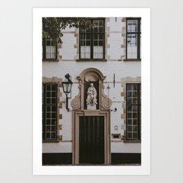 Bruges Door   Fine Art Travel Photography Art Print