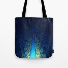 Mystic Peacock Tote Bag