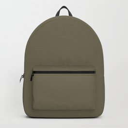 Martini Olive | Pantone Fashion Color | Fall : Winter 2018 | New York and London | Solid Color Backpack