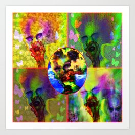"""Warholesque"" by surrealpete Art Print"