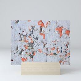 Peeling paint Textures 20 Mini Art Print