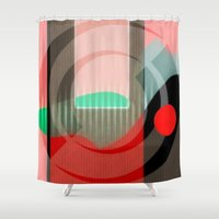 courage Shower Curtains featuring Courage by Kristine Rae Hanning