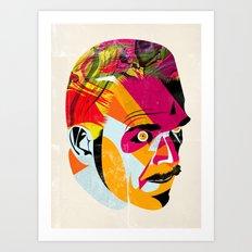 head_131112 Art Print