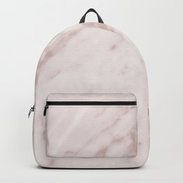 Real Rose Gold Marble Backpack
