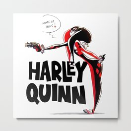 Harley Queen Metal Print