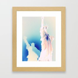 Bella Liberty Framed Art Print