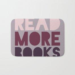 Read More Books (Purple) Bath Mat