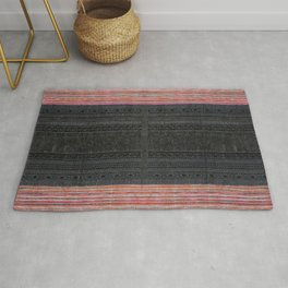 N54 - Antique Bohemian Traditional Oriental Moroccan Style Rug