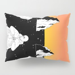 Departed to the unknown world Pillow Sham
