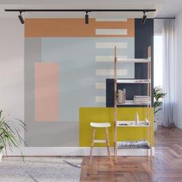 Carson Abstract Geometric Print in Multi Wall Mural