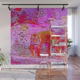 Popular Animals - Tiger 1 Wall Mural