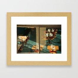 Tables Framed Art Print