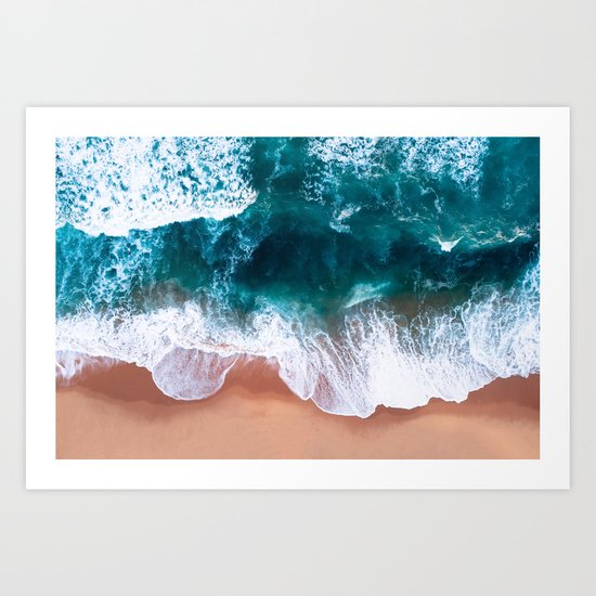 Aerial Foam Beach by judithhoy