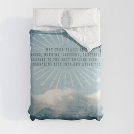 Crooked Trails Comforters