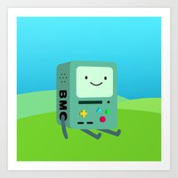 beemo Art Prints featuring Beemo by Ashtn