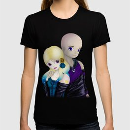 MoonMirror and CrescentCleft T-shirt