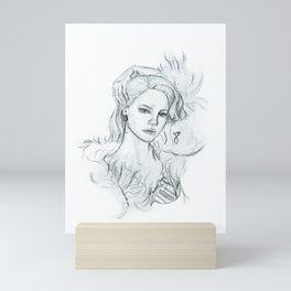Young and Beautiful Mini Art Print