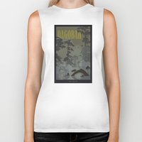 travel poster Biker Tanks featuring Dagobah Travel Poster by Tawd86