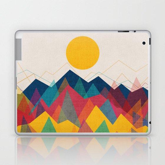 Uphill Battle Laptop & iPad Skin