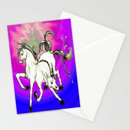 horse of DOOM, revisited Stationery Cards