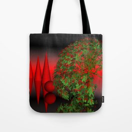where the landscape is different Tote Bag