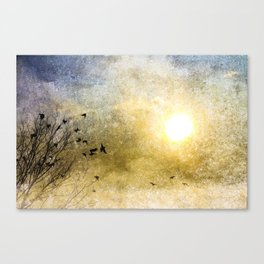 New Day Yesterday Canvas Print