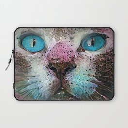 Aquarius Cat Laptop Sleeve