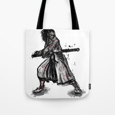 Bloody Samurai Tote Bag
