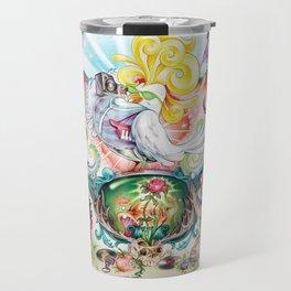 Pop Rooster Travel Mug