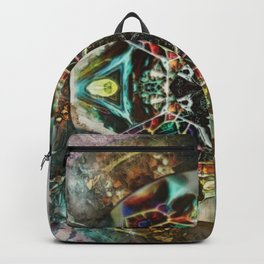 Prying Open Backpack