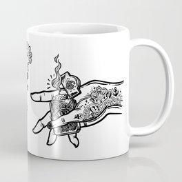 the creation of cannabis Coffee Mug