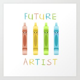 Future Artist Art Print