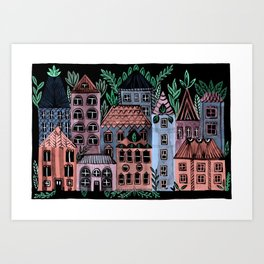 Little Street Art Print