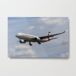 Middle Eastern Airlines MEA Airbus A330 Metal Print