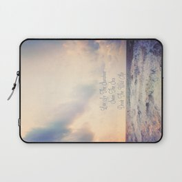 Live In The Sunshine Laptop Sleeve
