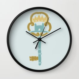 Castle in the Air Wall Clock