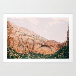 zion national park 2 Art Print