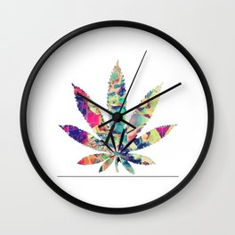 Psychedelic Maria Wall Clock