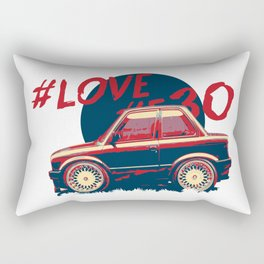 Mini Bmw e30 Rectangular Pillow