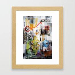 DRAWING PAD Framed Art Print