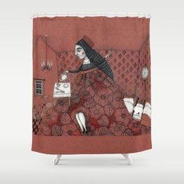 Schneewittchen-The House of the Seven Dwarfs Shower Curtain