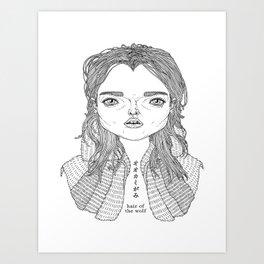 Ookamigami Art Print