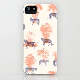 Where they Belong - Tigers iPhone Case