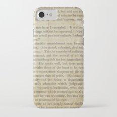 Pride and Prejudice  Vintage Mr. Darcy Proposal by Jane Austen   Slim Case iPhone 7