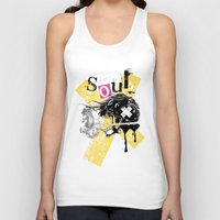 soul Tank Tops featuring Soul by Tshirt-Factory