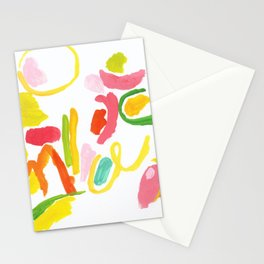 Abstract Landscape 1 Stationery Cards